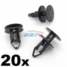 20x 8mm Ajuste a Presión Plástico -clips RENAULT KADJAR REJILLA & Paso de rueda