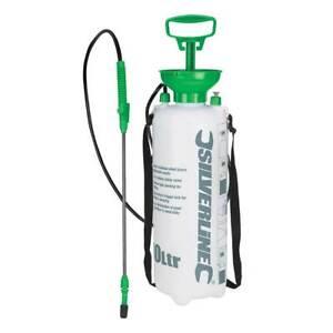 Silverline 10L Long Reach Pressure Sprayer for Lawn Feed/Fertiliser/Weed Killer