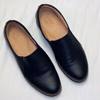Naturalizer Zophie 2 Women's Size 10M Black Smooth Slip-On Sneaker Loafer