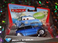 "DISNEY PIXAR CARS ""BECKY WHEELIN"" Die-Cast Metal, Scale 1:55, Mattel, NEW"