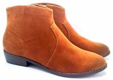 """0.5-1.5"""" Low Heel Ankle Boots for Women"""