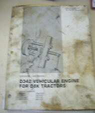 Caterpillar Manual for D342 Vehicular Engine for D8K Tractors (1977)