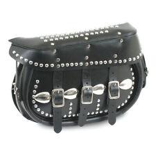 Samwel King Saddlebag, Leather, Black, For Harley-Davidson Since 1984