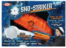 Sno-Striker SnowBall Gun Snow Launcher Toy Easy To Pull Launcher ~ New In Box