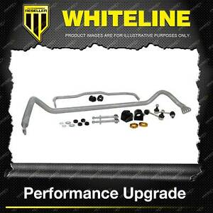 Whiteline Front + Rear Sway Bar - Vehicle Kit for Ford Falcon Incl Fpv FG FGX