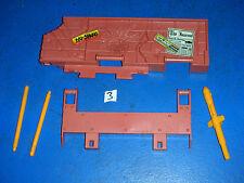 Vintage GI Joe Cobra Vehicle Parts 1992 Fort America Pieces LOT # 3 missiles