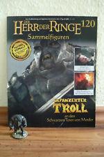 Herr der Ringe Figur:Gepanzerter Troll a.d. schwarz. Toren v. Mordor (120)+Heft