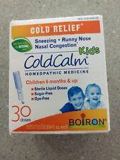 Boiron ColdCalm Liquid dose KIDS Cold Relief - 30ct