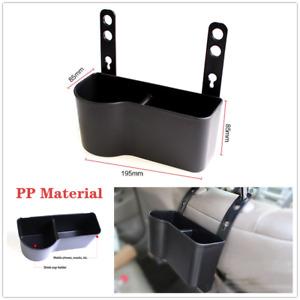 Car SUV Seat Back Shelf Compartment Hanging Bag Storage Pocket Drinks Cup Holder