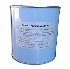 Screen Printing Supplies:1 pc of Screen Frame Adhesive -1kg/2.2lb for DIY