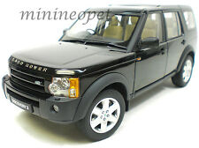 AUTOart 74802 2005 LAND ROVER DISCOVERY 3 1/18 DIECAST MODEL CAR BLACK