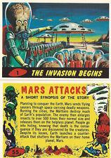 MARS ATTACKS 1994 ARCHIVES/MARS ATTACKS HERITAGE 2012 SETS! /POSTER/BOX & MORE!
