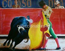 poster painting print 16x20 plaza de toro torero bullrings