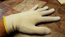 2 pairs of  wasco fishing gloves 100% nylon size large breathable