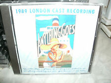 ANYTHING GOES,1989 LONDON CAST RECORDING