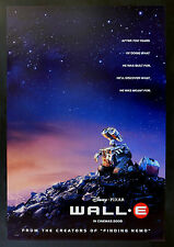 WALL E * CineMasterpieces 1SH ORIGINAL MOVIE POSTER 2008 DISNEY PIXAR WALLE