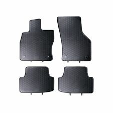 FLOOR MATS FIT SEAT LEON 3 III (2013-) RUBBER BLACK TAILORED