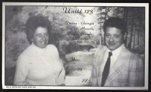 "QSL QSO RADIO CARD "" Le Sapin Vert"", Masson, Quebec Canada (Q196)"