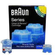 Braun Reinigungskartuschen CCR 2 Clean & Renew Lemonfresh Series 9 Series 7 u. 5