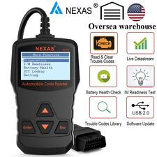 OBDII Check Engine Light Car Diagnostic Tool OBD2 LIVE DATA Code Reader Scanner