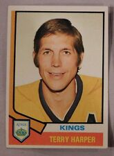 1974 Topps Terry Harper Los Angeles Kings #55 Hockey Card nm-mt