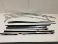 BMW 5er E39 Limousine - Türleisten Fensterleisten Leisten Zierleisten Set   (39)