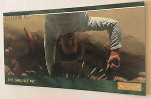 Return Of The Jedi Widevision Trading Card 1995 #44 Sarlacc Pit Han Solo