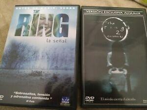 Colección The Ring (La Señal) Parte 1 Y 2 Dvd