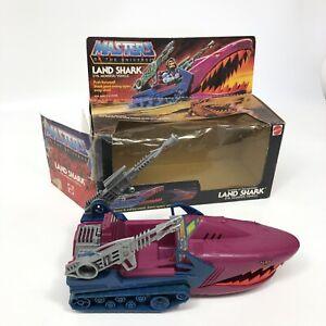 Land Shark Masters of the Universe Vintage Complete 1984 W/ Original Box Rare