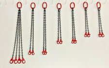 Crane Lifting Chain Set. In Authentic Mammoet Red. 1/50th, 1/48th