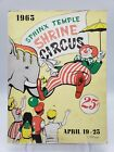 SPHINX TEMPLE SHRINE CIRCUS HARTFORD CT PROGRAM 1965