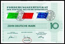 """Berlino GUIDA SPORT certificato n. 1980 """"a000000"""" Number Rare! PALLA ACQUA z1877"""