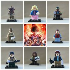 Stranger Things Horror Toys Dustin,Eleven,Will 8 X Mini Figures Use With Lego