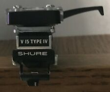 Vintage Shure V15 Type IV Cartridge With Headshell