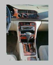 HONDA ACCORD AERODECK WOOD DASH TRIM KIT FITS MODEL 4 DOOR NEW INTERIOR CAR SET