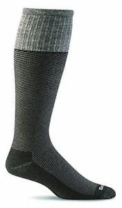 Circulador de compresión para hombre sockwell Calcetines Mediano//Grande Negro