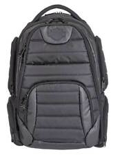 Harley-Davidson Bar & Shield Quilted Backpack - Organized & Padded, Black 99319