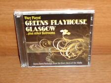 Dance Band Nostalgia : THEY PLAYED GREENS PLAYHOUSE GLASGOW : 2 CD Set  REXX 333