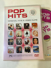 'Pop Hits' 2002 Region 4 Dvd & Cd - Will Smith, Mandy Moore, Nkotb, Cyndi Lauper