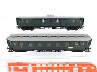 CG85-0,5# 2x Liliput H0/DC Personenwagen/Gepäckwagen: 295/178295 + 294/180294