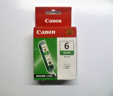 Canon bci-6g bci6g bci-6 G Verde Green Pixma ip8500 i990 i9950 SIGILLATO