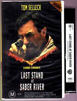 Last Stand At Saber River VHS Tom Selleck, Suzy Adams, David Carradine