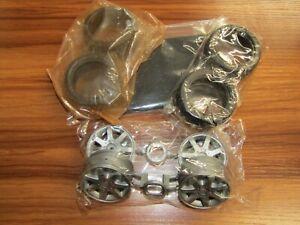 Tamiya Original Wheels / Tires / Inserts For M02L Mercedes SLK (58202) - Vintage