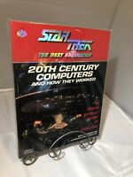 IMPECCABLE CONDITION UNREAD Star Trek The Next Generation Computers Of The 20th
