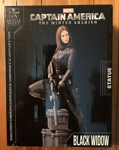 Gentle Giant BLACK WIDOW 1/8 scale statue NEW Avengers Winter Soldier Johansson