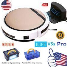 ILIFE V5S Pro Smart Robotic Vacuum Cleaner Auto Microfiber Dust Sweeping Machine