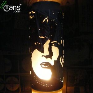 Paul Stanley Beer Can Lantern! KISS Pop Art Candle Lamp, Unique Gift