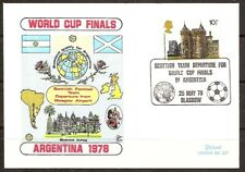 Scotland &  Argentina, World Cup 1978, cover + FDC, lot # 90