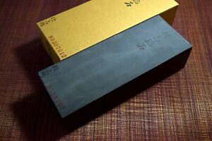 Japanese Natural Whetstone Tsushima Black 30'Size+ *Chunk* 2349g Nagasaki Pref.