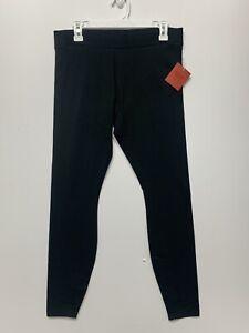 Women's Leggings Mossimo Supply Co. Black Size L cotton spandex Sweatpants
